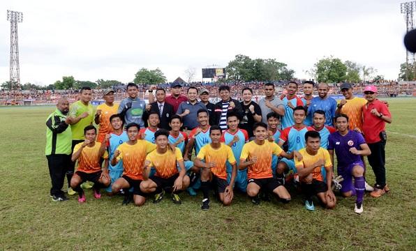 Laga Amal Persija Vs Lampung All Stars Sukses Ridho Minta