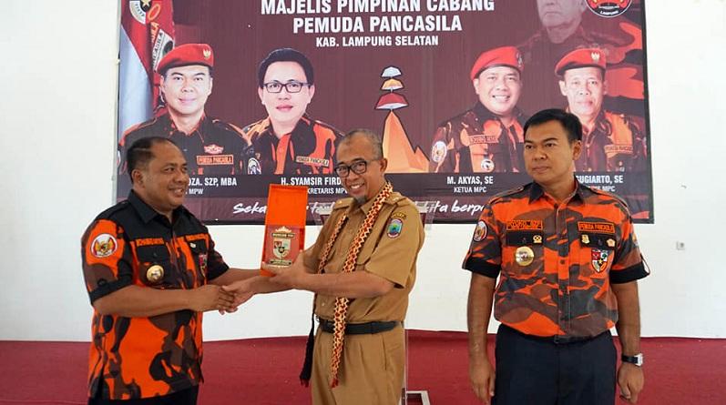 Pemkab Ajak Pemuda Pancasila Ikut Kawal Pembanguan Di Lampung